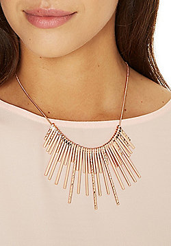 Pieces Sunburst Collar Necklace