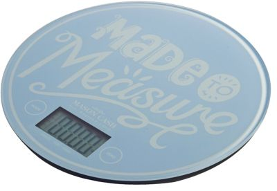 Mason Cash Electronic Scale, Sky Blue