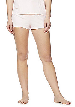F&F Rib Lounge Shorts - Pink