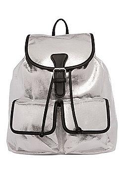 F&F Metallic Rucksack