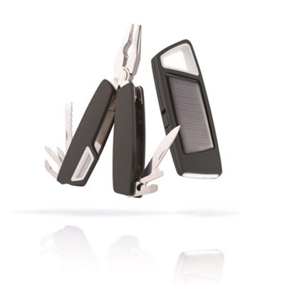 Tovo Solar Torch & Multi-Tool - Black