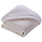 Clair de Lune Luxury Hooded Towel (Honeycomb Cream)