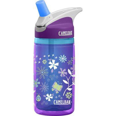 Camelbak Eddy Kids Insulated Bottle 400ml Purple Flowers