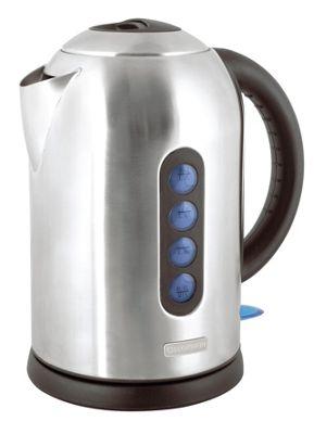 Lloytron E1507SS 1.8 litre 3kw 360 Rapid Boil Cordless Kettle - Stainless Steel