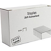 Staples 26/6 Pack of 5000 WX27001