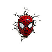 Marvel Spiderman Face 3D Light