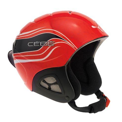 Cebe Pluma Junior Ski Helmet Basics Red Racing 48-50cm