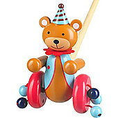 Orange Tree Toys Push Along Wooden Toy - CircusBear
