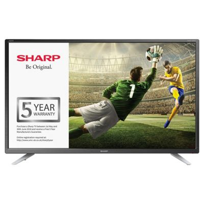 Sharp 32inch LC-32CHG4041K HD Ready LED TV with Freeview HD