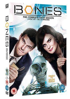Bones Season 6 (DVD Boxset)