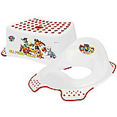 PAW Patrol - Step Stool & Toilet Training Seat Combo