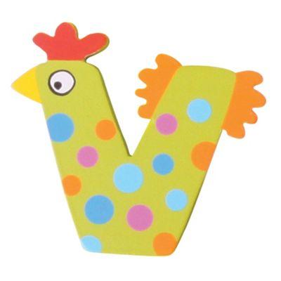 Tatiri Crazy Animals Letter V (Green Chicken)