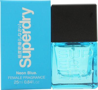 Superdry Neon Blue Eau de Cologne 25ml Spray For Women