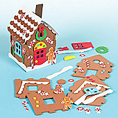 Christmas Crafts Gingerbread House Kits (2 Pcs)