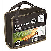 Gardman Sun Lounger Cover- Black