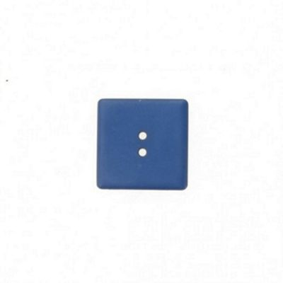 Buttons 25mm - Dark Blue Square 2 Hole
