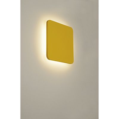 Plastra Square Wall Light Square White Plaster LED