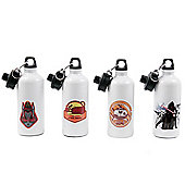 Star Wars: The Force Awakens Personalised White Water Bottle