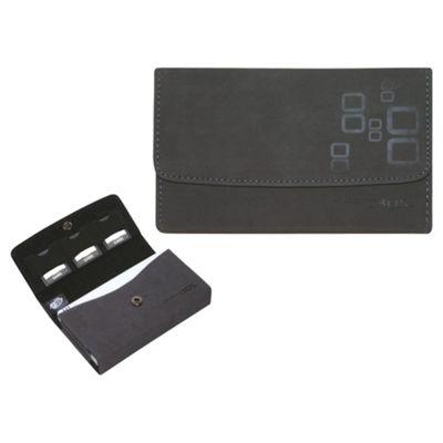 Microsuede Wallet - Black