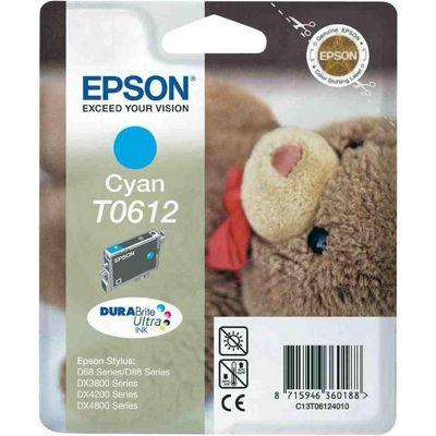 Epson DURABrite T0612 Cyan Ink Cartridge C13T06124010
