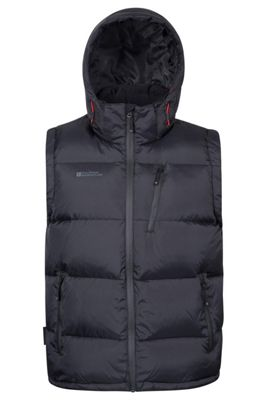 Mountain Warehouse Frost Extreme Mens Down Padded Gilet ( Size: XXXL )