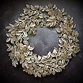 Silver Leaf Wreath