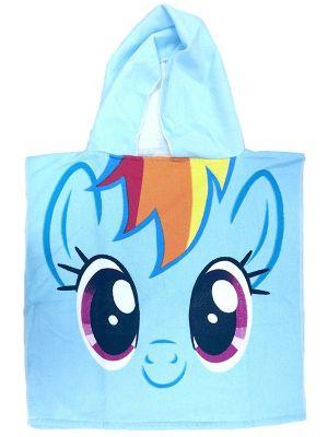 My Little Pony Rainbow Dash Hooded Poncho Towel
