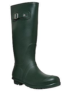 F&F Strap Detail Wellies - Green