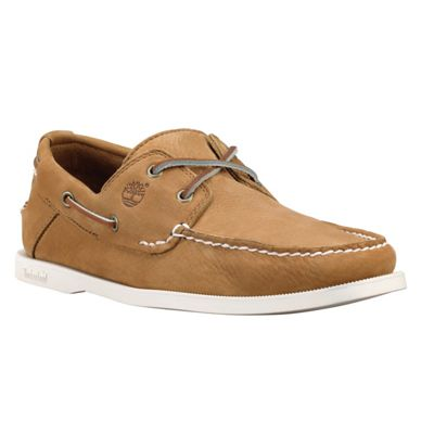 Timberland Mens Earthkeepers Heritage 2 Eye Boat Shoe Toasted Coconut 10