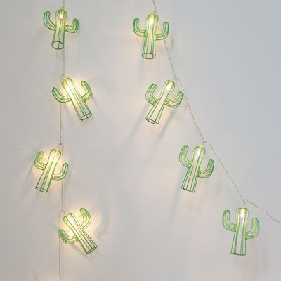 Cactus Battery LED Fairy Lights