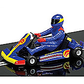 Scalextric Slot Car C3668 Super Kart (Blue)