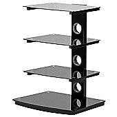 TIBO ST50-4 4 SHELF HIFI/AV RACK