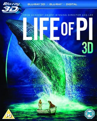 Life Of Pi (3D Blu-ray, Blu-ray & UV)