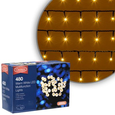 Buy 480 Led Warm White Chaser Christmas Lights From Our All