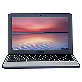 Asus C202 11.6 Inch Intel Celeron Chromebook with 2GB RAM 16GB Storage