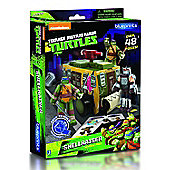 Teenage Mutant Ninja - Turtles Papercraft Shellraiser Vehicle Pack - Action Figures