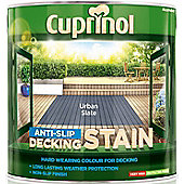 Cuprinol Anti Slip Decking Stain - Silver Birch - 2.5 Litre