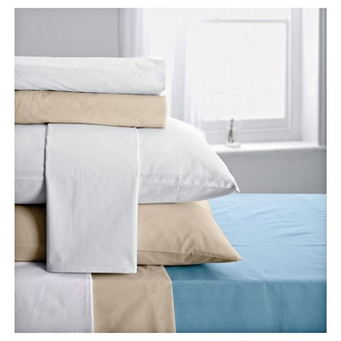 Tesco Housewife Pillowcases White Twinpack