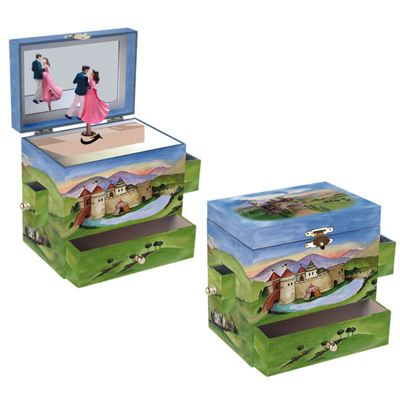 Girls Jewellery Boxes - Enchanted Castle | Children's Gifts