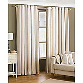 Riva Home Broadway Eyelet Curtains - Brown