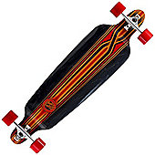 Mindless Longboards ML8020 Savage III Complete Longboard - Black/Red