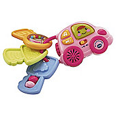 VTech My 1st Car Key Rattle, Pink