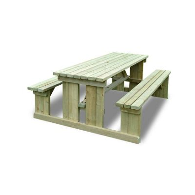 Tinwell Picnic Bench - 6ft