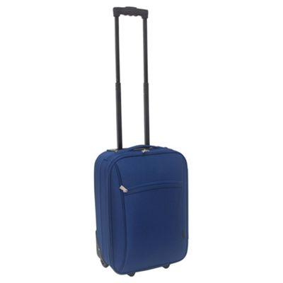 Tesco 2-Wheel Suitcase, Navy Small