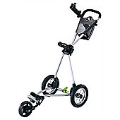 Stowamatic Continental Aluminum 3 Wheel Golf Trolley