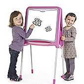 Smoby Pink Metal Drawing Board
