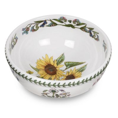 Portmeirion Botanic Garden Sunflower Salad Bowl 25cm