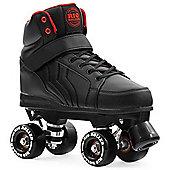 Rio Roller Kicks Quad Roller Skates - Black - Black