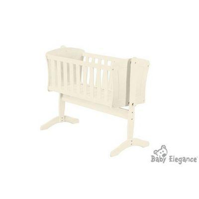 Baby Elegance Anna Swing Crib - Cream