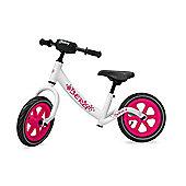 BERG Biky Balance Bike - Pink & White